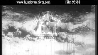 Spanish Civil War.  Archive Film 93588