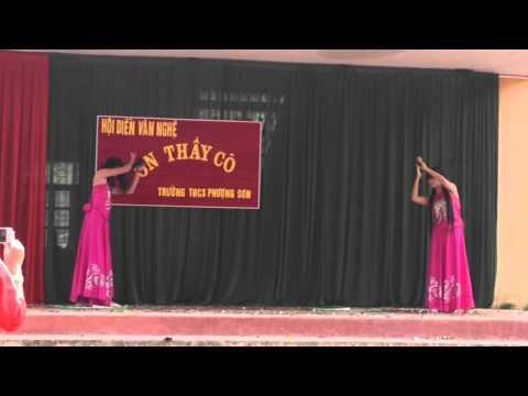 Múa tiên nữ trong tranh - 9A3 THCS Phượng Sơn