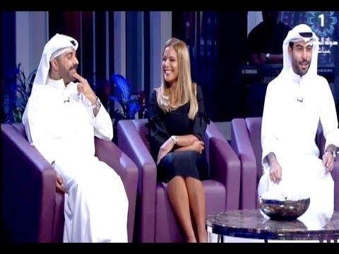 لقاء مع بيبي عبد المحسن وعبودكا - برنامج ليالي الكويت