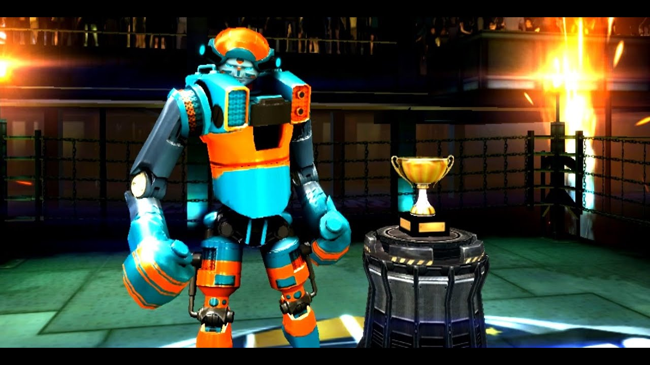 Real Steel Champions  FINAL TOURNAMENT  Axelrod VS Noisy Boy NEW ROBOTS GAME