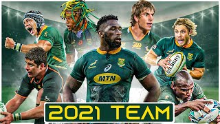 Springbok Rugby Squad Highlights   46 Man Squad To Face The British & Irish Lions 2021