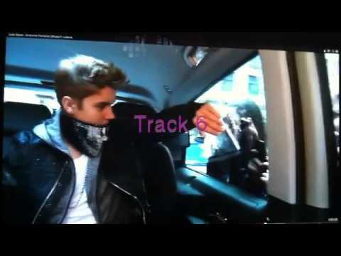 Justin Bieber: Breathe Tracklist