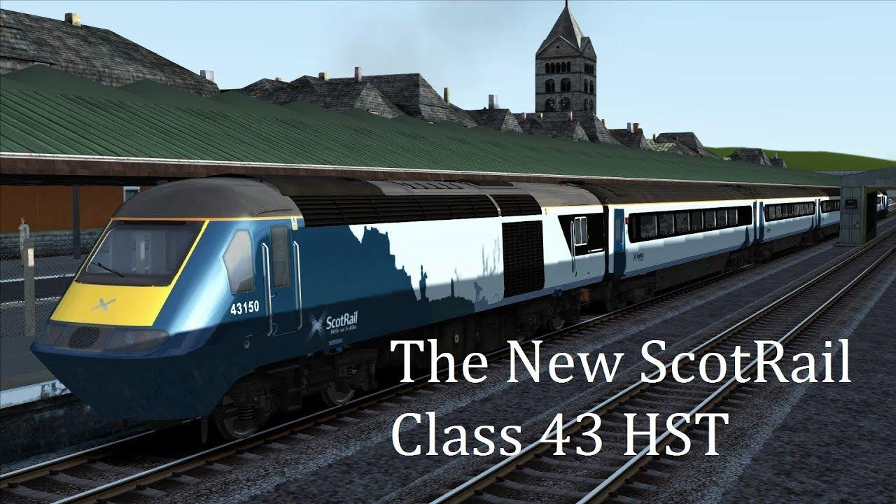 Scotrail Class 43 - YouTube