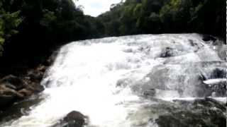 Aparecimento misterioso na cachueira em Lidice - Rio Claro - RJ