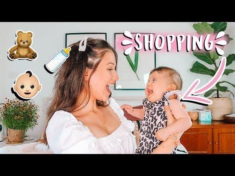 השופינג של תמרי🍼🛍👼🏻 כל מה שצריך לקנות לתינוקי