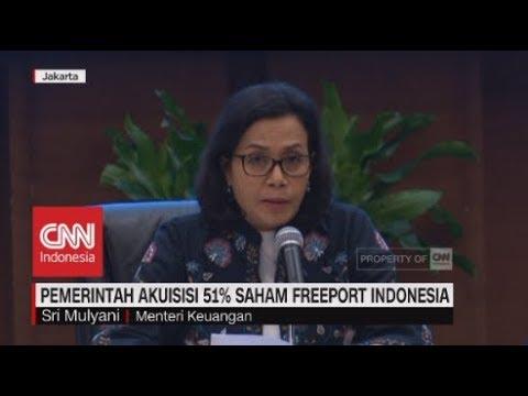 Sah! Pemerintah Akuisisi 51% Saham Freeport Indonesia