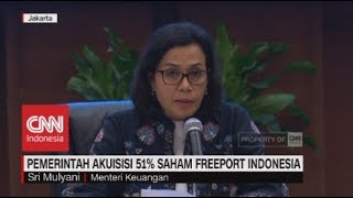Download Video Sah! Pemerintah Akuisisi 51% Saham Freeport Indonesia MP3 3GP MP4