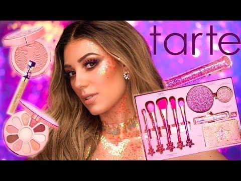 NEW TARTE FLOWER POWERED COLLECTION | Love Trust & Fairy Dust Vault | Tarte Cosmetics | Victoria Lyn