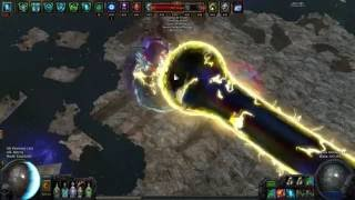 path of exile low life pathfinder blade vortex shaper fight