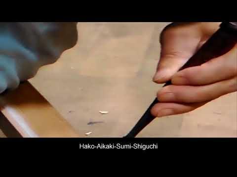 Amazing Woodworking Fastest Hand Craft Cutting Skills - Hako Aikaki Sumi Shiguchi Wood Joint