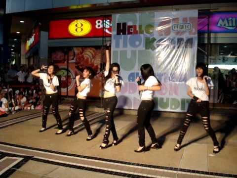 Vanity cover kara Audition Hello Korea @ MBK 26/09/09