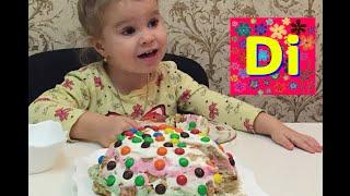 Детский торт в домашних условиях без выпечки красиво украшенный