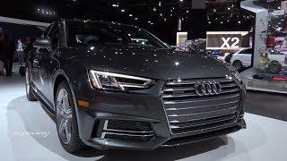 2018 Audi A4 - Exterior And interior Walkaround - 2018 Detroit Auto Show