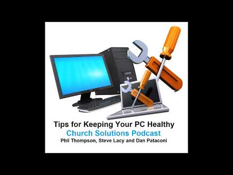 Keeping Your Church Computers Healthy