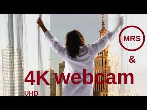 webcam panorama Warszawy, Polska | 4K + deep house radio MRS   ***  24/7 LIVE