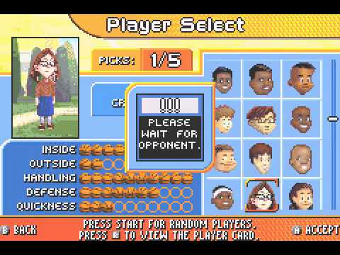 [Game Boy Advance] Backyard Sports - Basketball 2007 - Version Etats-Unis - Game Boy Advance] Backyard Sports - Basketball 2007 - Version Etats