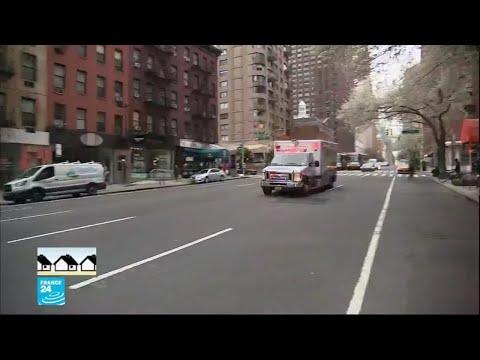 استنفار في مدينة نيويورك التي تبدو خالية من السكان بسبب فيروس كورونا  - نشر قبل 12 ساعة