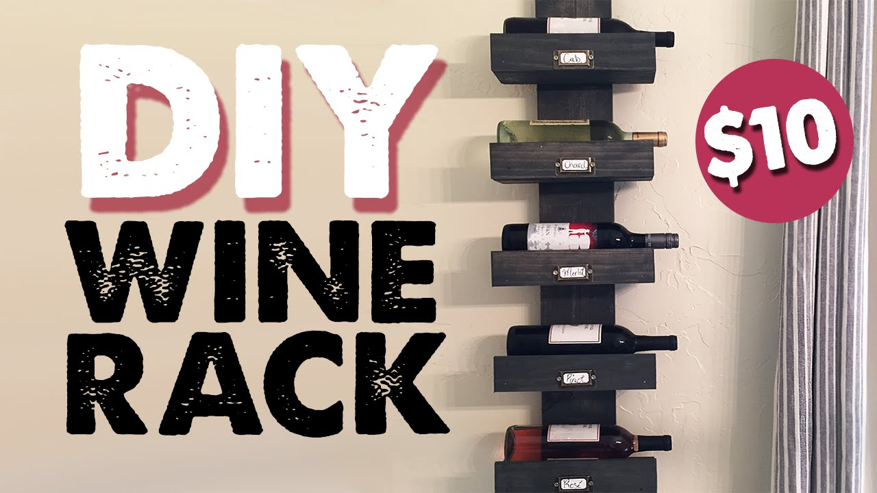 Design Diy Wine Rack diy wine rack shanty2chic youtube