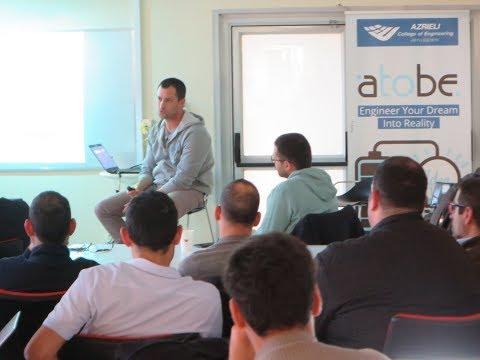 [Hebrew] Moses an an Entrepreneur   Silo Start-Up Exposure   AtoBe Accelerator