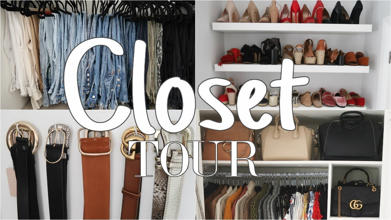 Closet Tour Summer 2017 | Take A Look Inside My Wardrobe