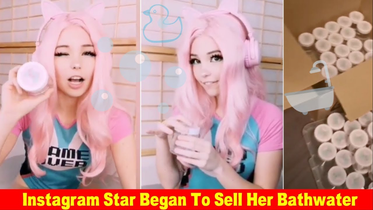Belle Delphine, the Instagram star known for selling her