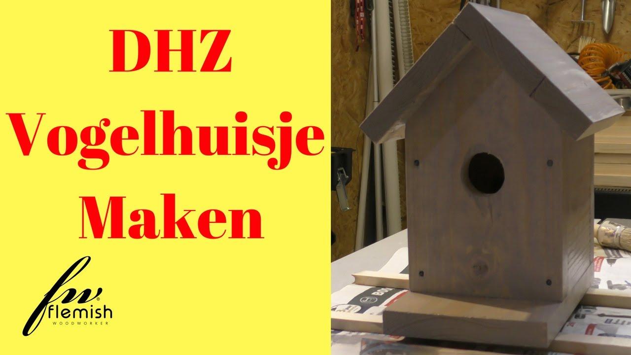 Verrassend Doe Het Zelf, Vogelhuisje Maken - YouTube ID-13