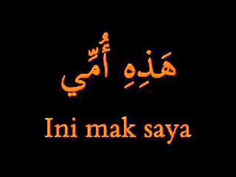 Jom belajar Bahasa Arab dengan berlagu