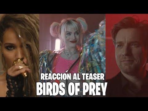 REACCIÓN TEASER | BIRDS OF PREY | PRIMERAS IMPRESIONES