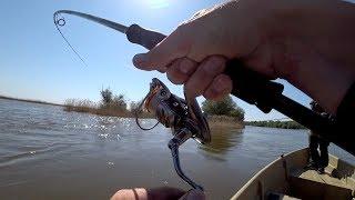 Они разгибают крючки и рвут леску!!! Мы не ожидали такой рыбалки здесь!! Рыбалка на спиннинг.