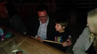 Video Jay Osmond, gives drum lessons to, Zachary Palomo 2/17/2017. download MP3, 3GP, MP4, WEBM, AVI, FLV November 2017
