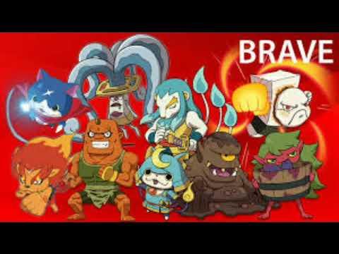 Yo Kai watch Brave tribe japanese summoning song zero