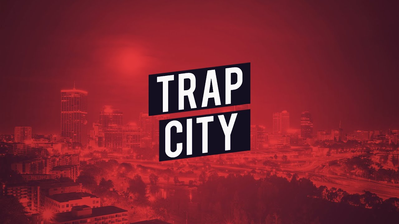 Trap City Wallpaper Throw Pillows By DMClothing