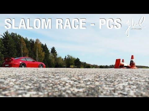 Slalom Porsche Club Sweden May 2018