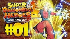 THE NEXT GREAT DRAGON BALL GAME! Super Dragon Ball Heroes: World Mission