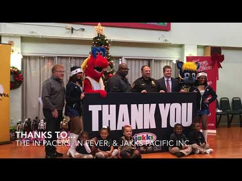 Joshua Academy Preschoolers Receive Toys from Indiana Fever, Pacers and Jakks Pacific Inc.