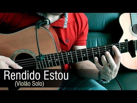 Rendido Estou - Aline Barros Violão Solo Fingerstyle by Rafael Alves