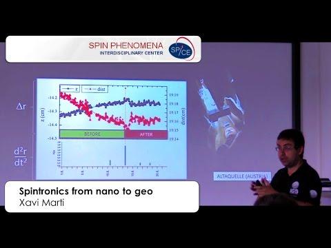 Xavi Marti - Spintronics from Nano to Geo