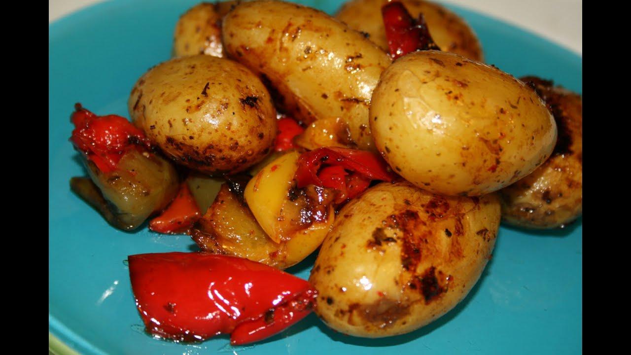Saut de pommes de terre aux poivrons facile youtube - Pomme de terre rissolees maison ...