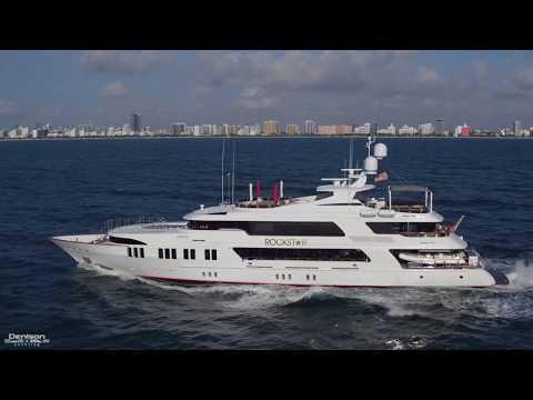 ROCKSTAR: 161 Trinity Superyacht