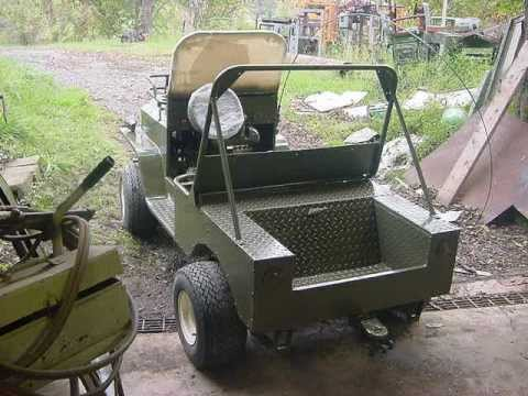 Clubcar Jeep Mini Jeep Youtube
