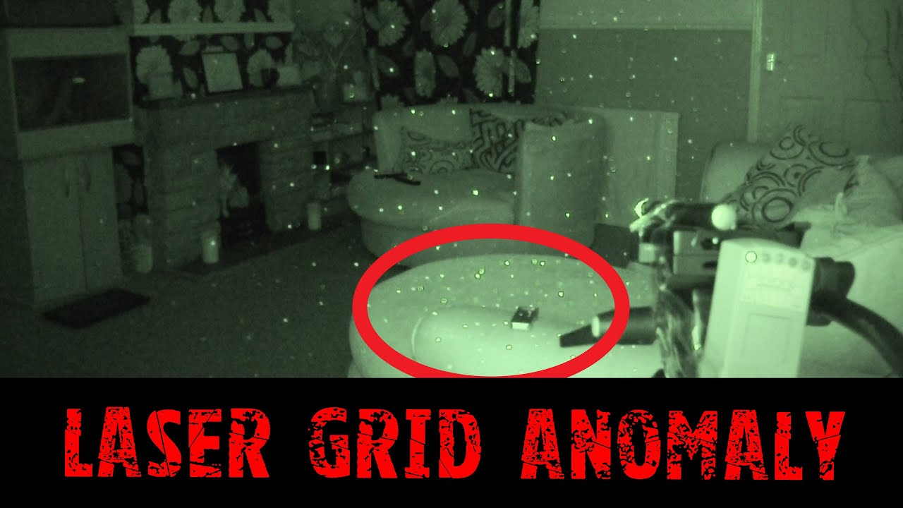 Laser Grid Anomaly - Real Paranormal Activity Part 34.2