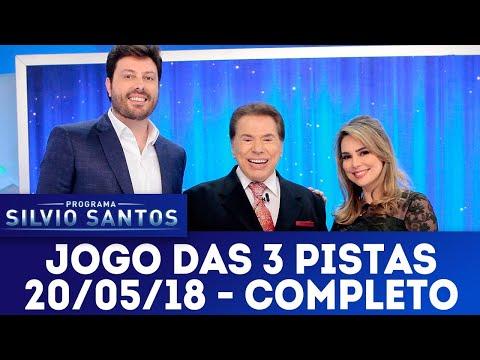 Jogo das 3 pistas com Danilo Gentili x Rachel Sheherazade | Programa Silvio Santos (20/05/18)