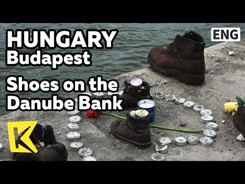 【K】Hungary Travel-Budapest[헝가리 여행-부다페스트]산책로의 신발/Danube River/Shoes on the Danube Bank/Remembrance