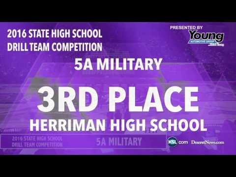 Drill Team: 2016 Utah 5A Military Top 5