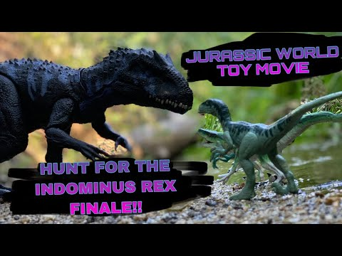 jurassic-world-toy-movie:-hunt-for-the-indominus-rex-finale!