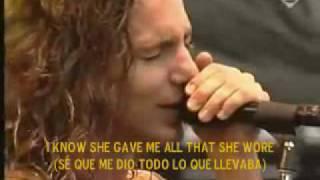 Black- Pearl Jam (subtitulado al español).