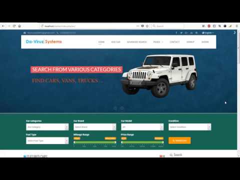 Carbiz – Buy Sell Car Marketplace Script (Ecommerce)