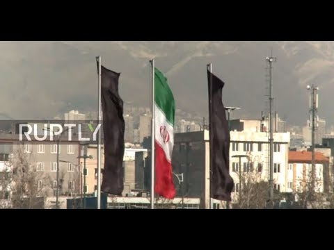 Iran: Black flags flies over Tehran after deadly attacks