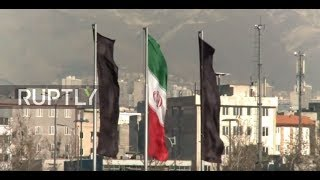 Iran  Black flags flies over Tehran after deadly attacks