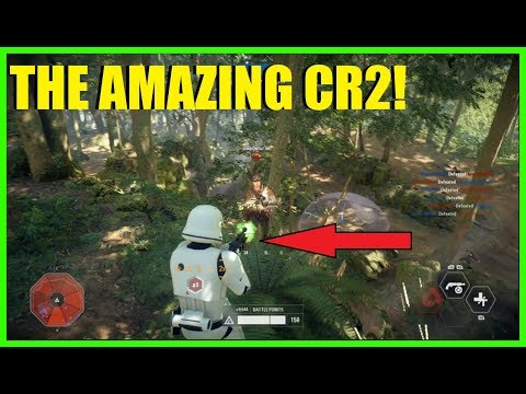 Star Wars Battlefront 2 - The CR2 is AMAZING! | Huge infantry killstreak + Palpatine gameplay!
